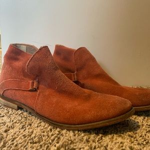 Free People suede ankle boot